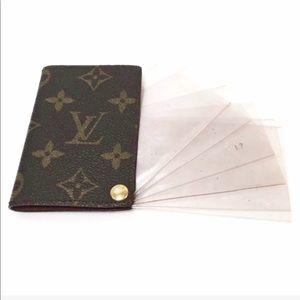 Authentic Louis Vuitton Pression Card/Photo Holder